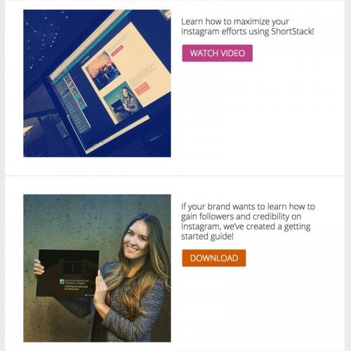 Instagram + ShortStack Example