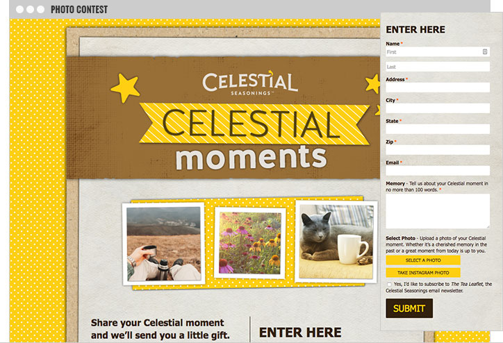 Celestial Moments Photo Campaign
