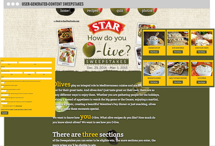 Star Olive Campaign