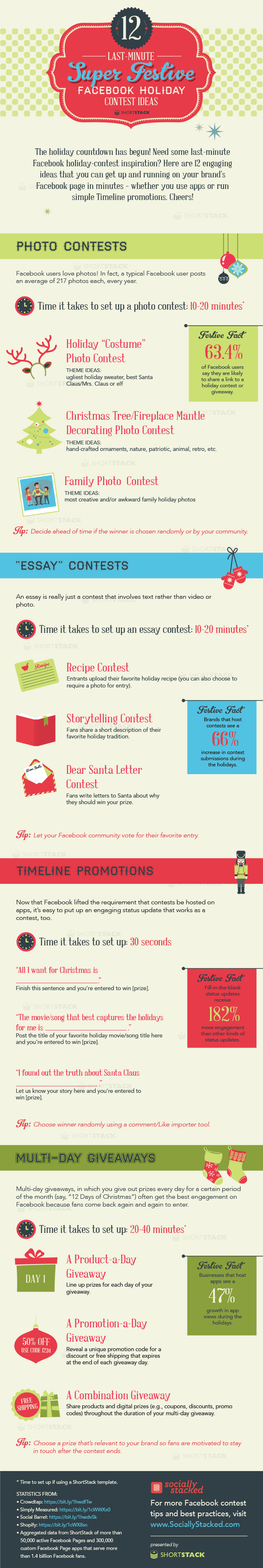 facebook holiday contests last minute super festive ideas original holiday contest ideas