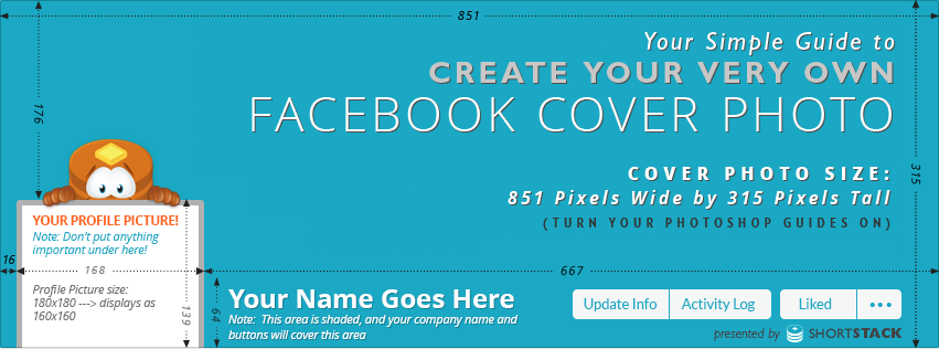 Cover Photo Template For Facebook Shortstack