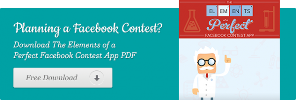 The Elements of a Perfect Facebook Contest App