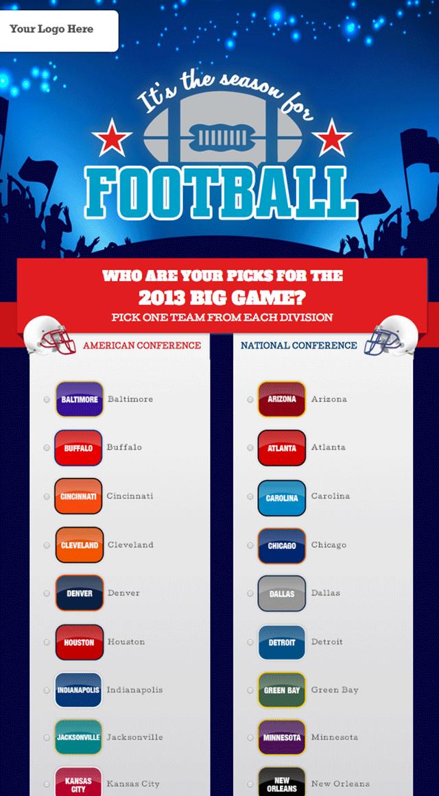 Football-Poll-Template