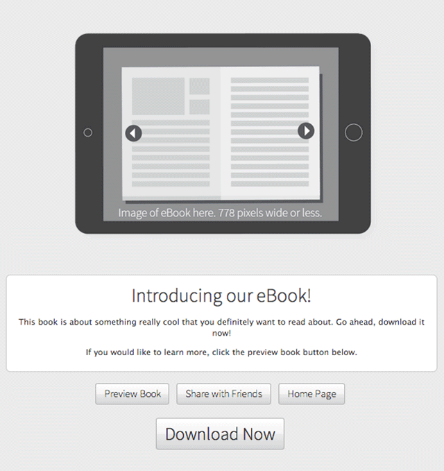 eBook-template