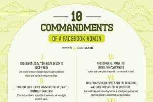 10 Commandments of a Facebook Admin