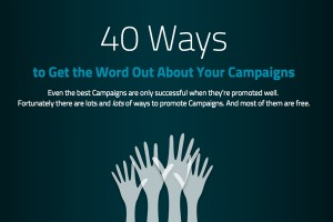 40 Ways to Promote Your Campaign
