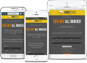 ShortStack Campaigns are mobile-ready