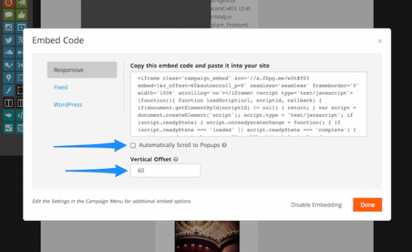 Updates to Responsive Embed