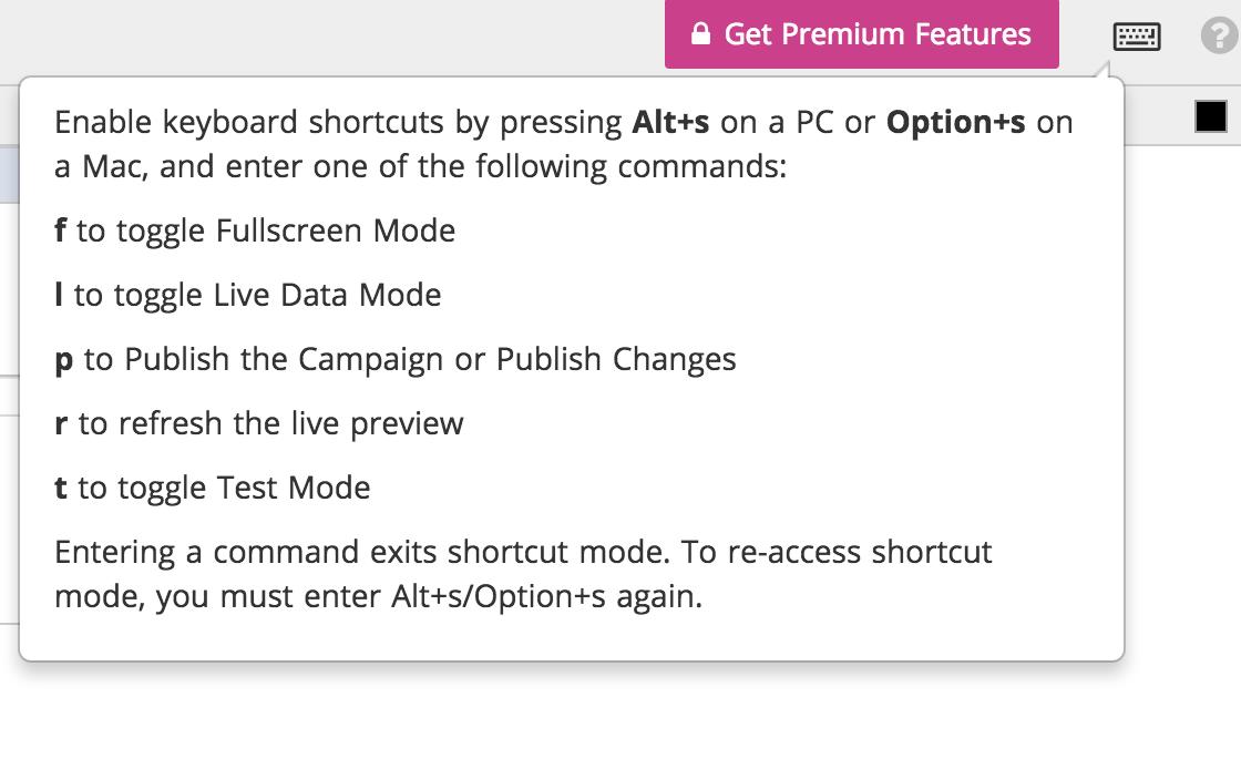 Get Premium Features