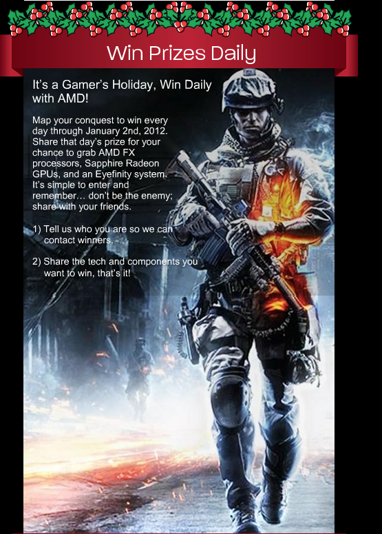 AMD Holiday Campaign