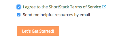 ShortStack Terms of Service
