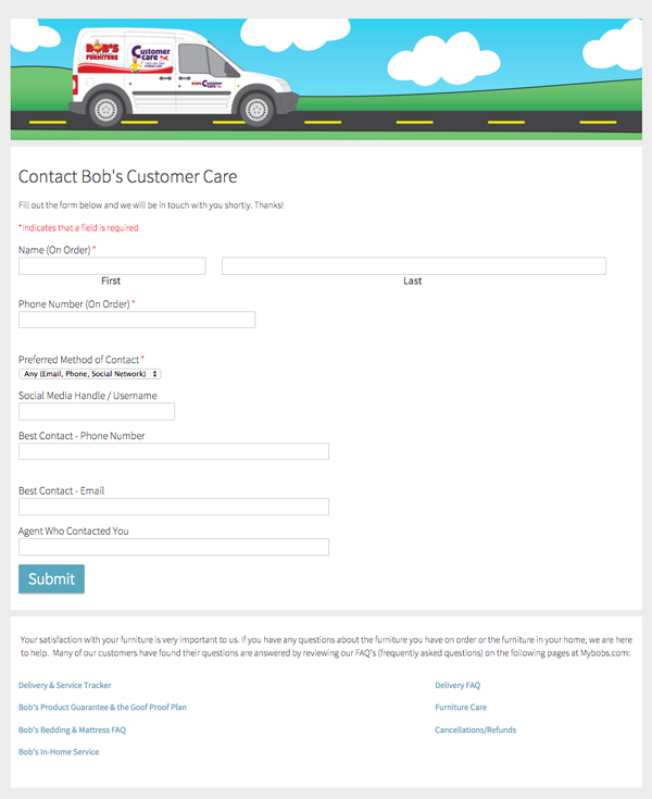 Weekly Campaign Idea: Customer Service Contact