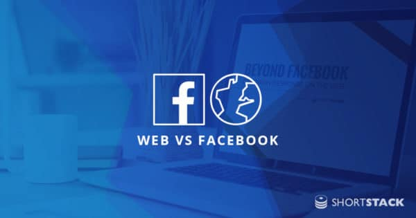 Campaign Response on the Web vs. Facebook