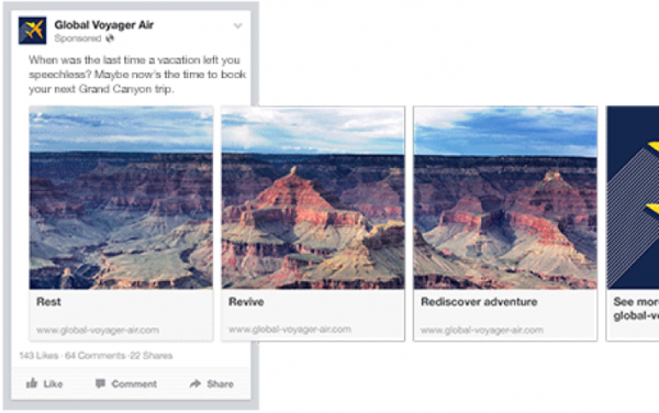 The Benefits of Facebook Carousel Ads - and Why Every Business ...