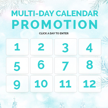 Multi-Day Calendar Promotion Template