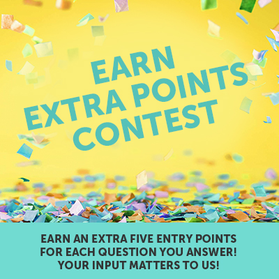 Earn Extra Points Contest Template