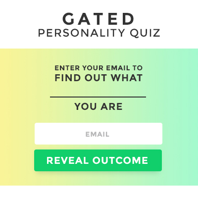 Gated Personality Quiz Template