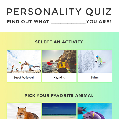 Personality Quiz Template