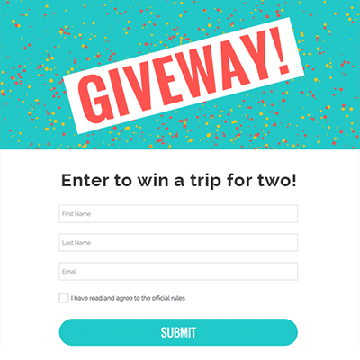 the most powerful marketing platform for contests and giveaways