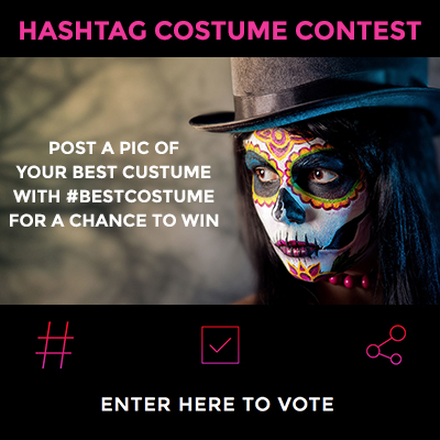 Halloween Hashtag Contest Template