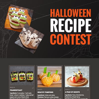 Halloween Recipe Contest Template