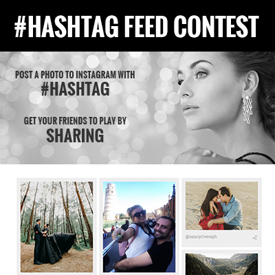 Instagram Hashtag Giveaway Template