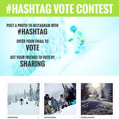 Instagram Hashtag Contest Template