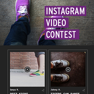 Instagram Video Contest Template