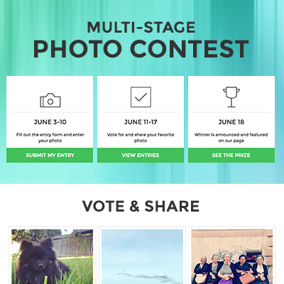 Multi-Stage Photo Contest Template
