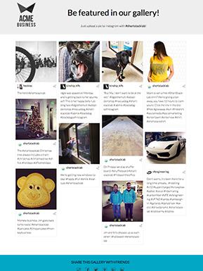 Instagram Gallery Template