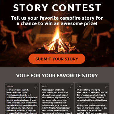 Story Contest Template