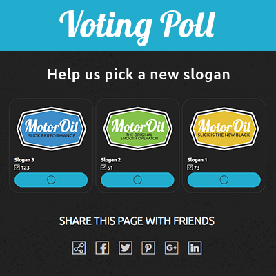 Voting Poll Template