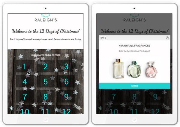 holiday calendar giveaway