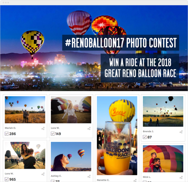 Reno Balloon Race Photo Contest