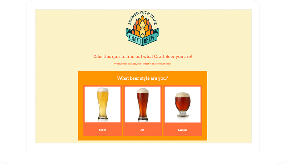 """What Kinf of Beer Are You"" Quiz"