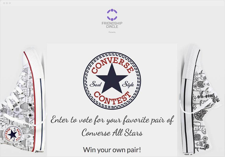 Friendship Circle Enter-to-Vote Contest
