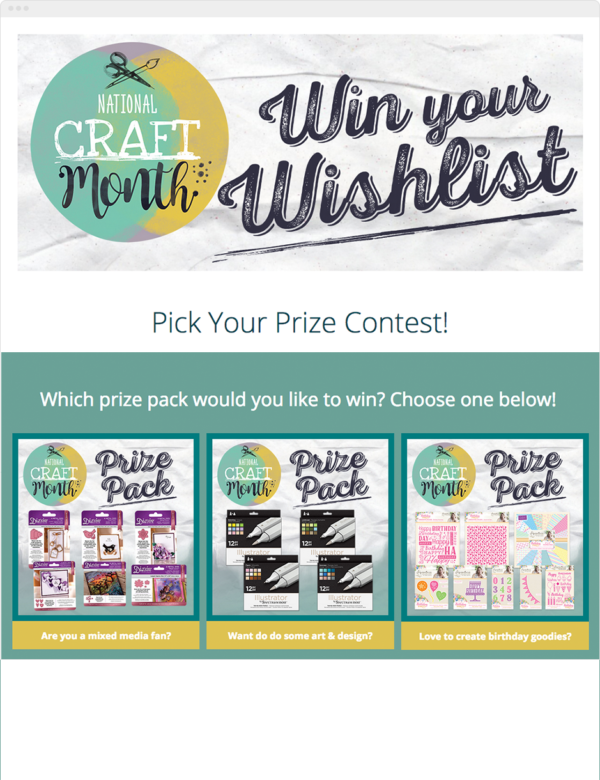 Crafters Companion Contest