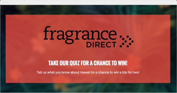 Frgrance Direct Quiz