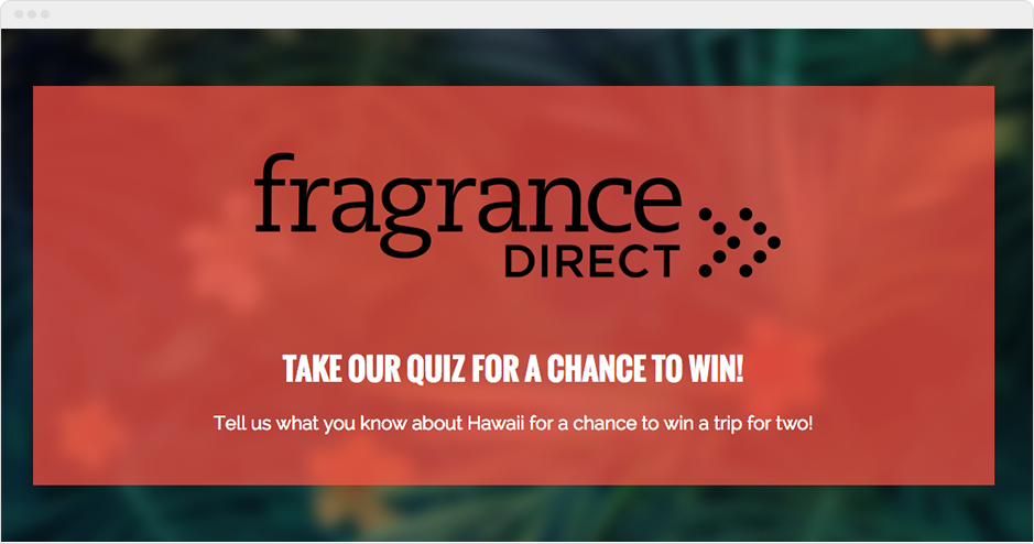 Frgrance Direct Quiz