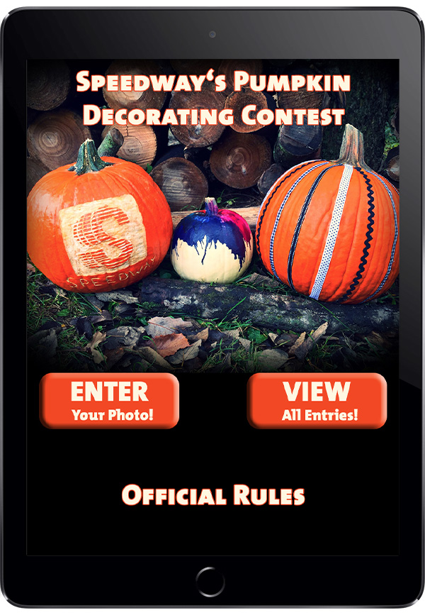 Speedway's Pumpkin Decorating Photo Contest