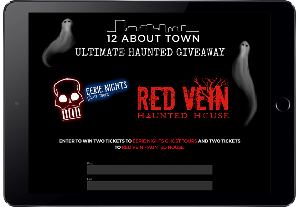 Twelve About Town's Ultimate Haunted Giveaway