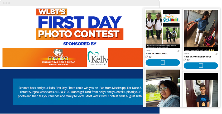 Create a facebook contest to inspire fans to bond with for Facebook photo contest rules template