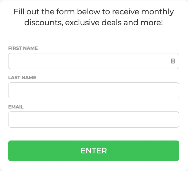 Offer an incentive for filling out your form