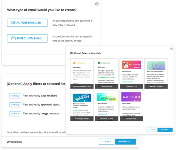 ShortStack's new Marketing Automation features