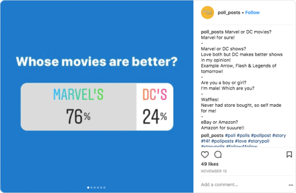 Instagram Polls for Stories