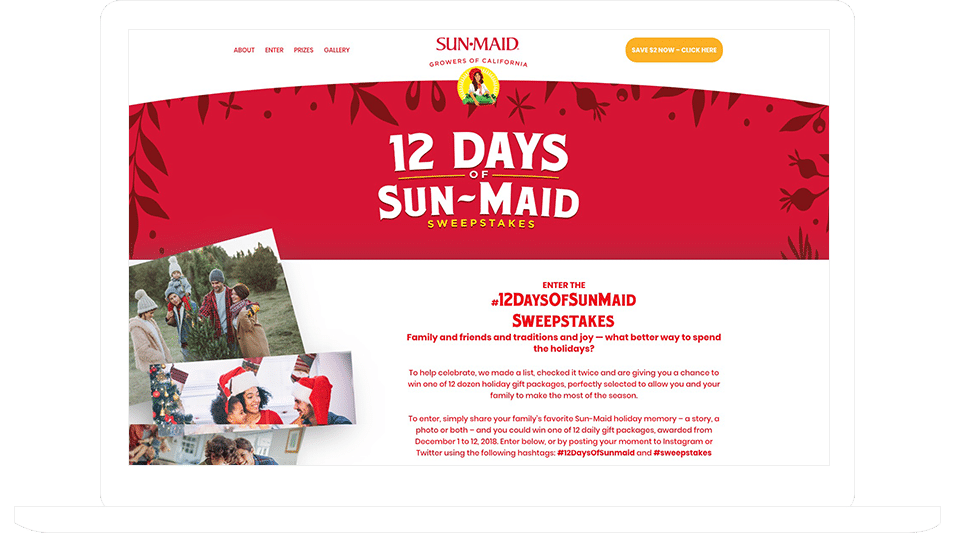 Sun-Maid #12DaysOfSunMaid