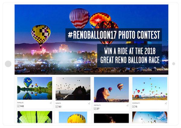 Reno Air Ballon Race contest