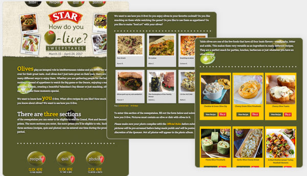 Star Foods post-hliday campaign