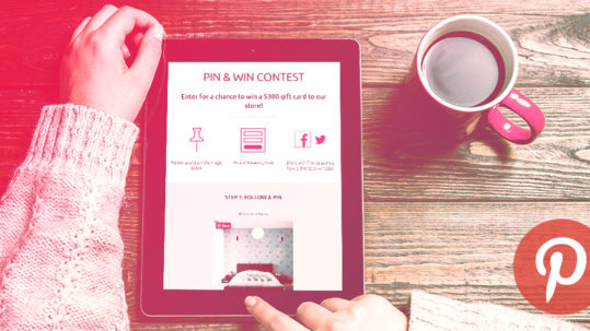 Create a Pin and Win Contest in 6 Steps
