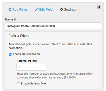 ShortStack's Refer-a-Friend feature